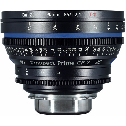 Ziess Compact prime CP.2 85mm/T2.1 Cine Lens